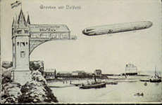 Zeppelin Station in Delfzijl (Gn)